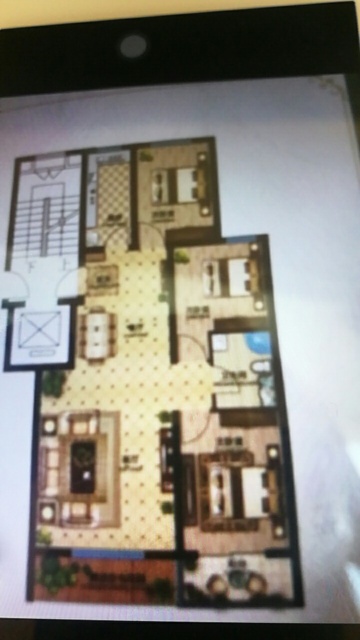 天鹅湖3室 2厅 1卫62万元