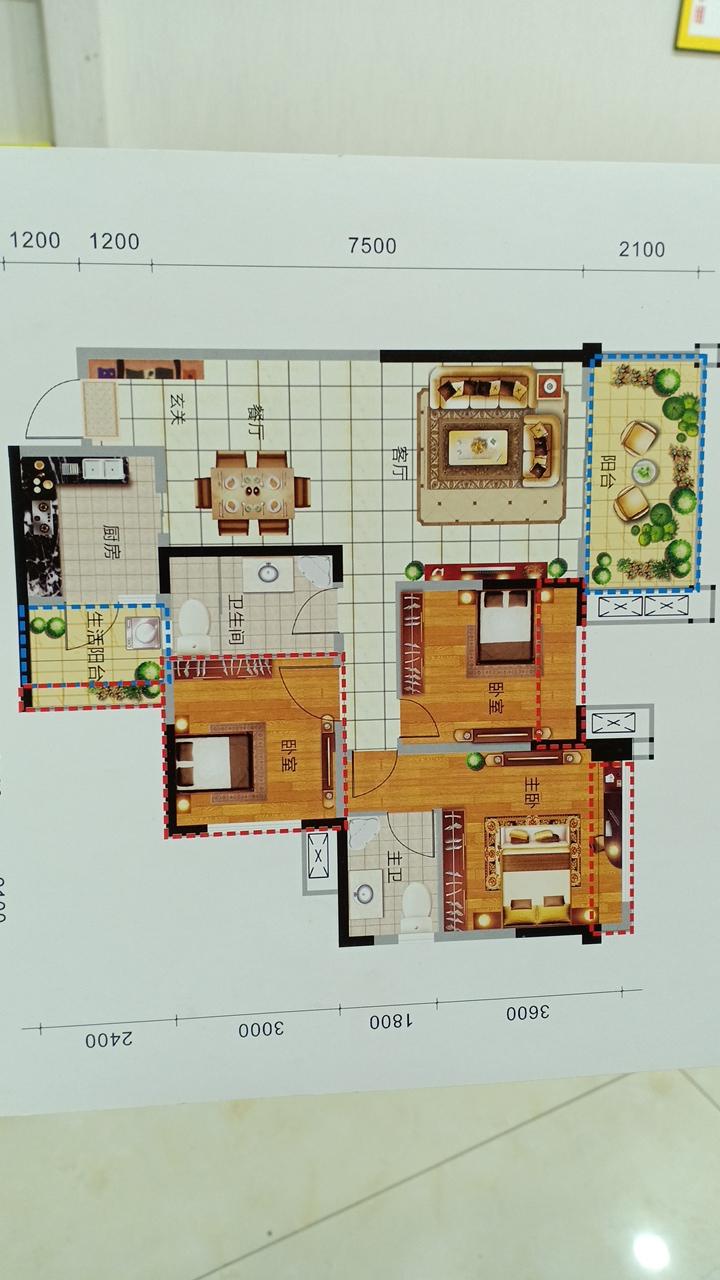 永兴一品3室 2厅 2卫