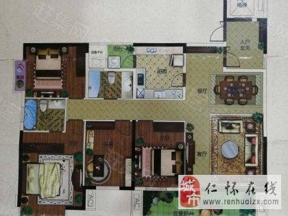 国酒城楼王直接更名,不要过户费4室 2厅 2卫128万元