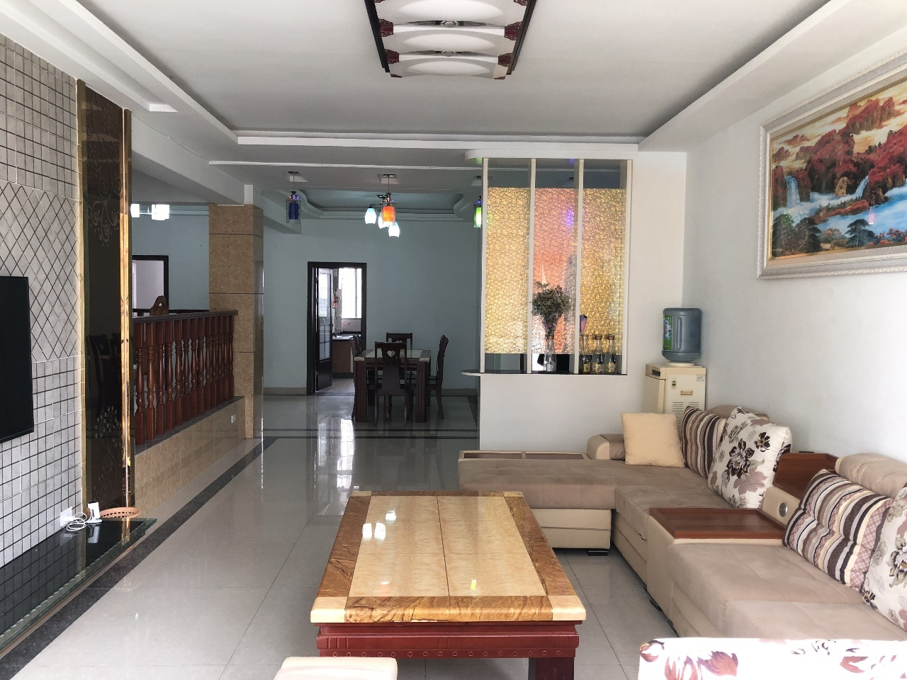 江北龙泉外国语学校旁5居豪宅,拎包入住,支持按揭