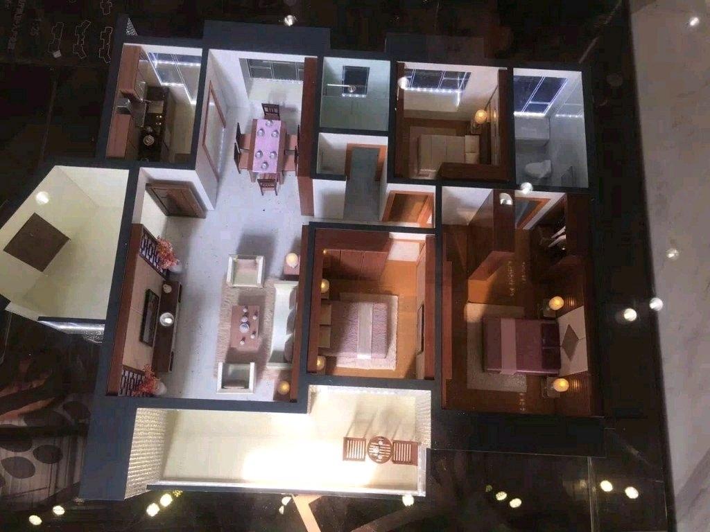 锦港华府3室 2厅 2卫98万元