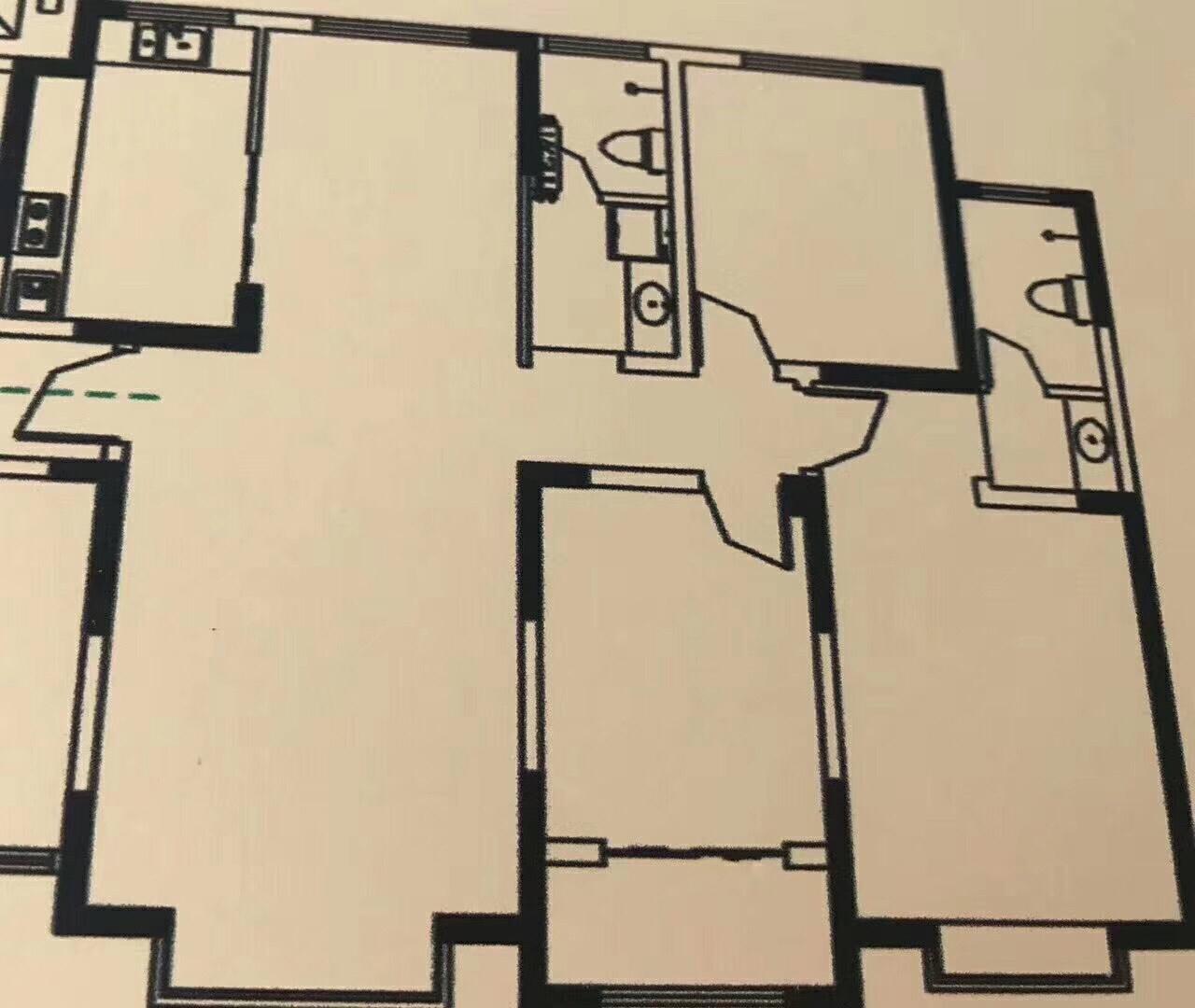 博大·壹號院精装大三居好楼层有证随时过户