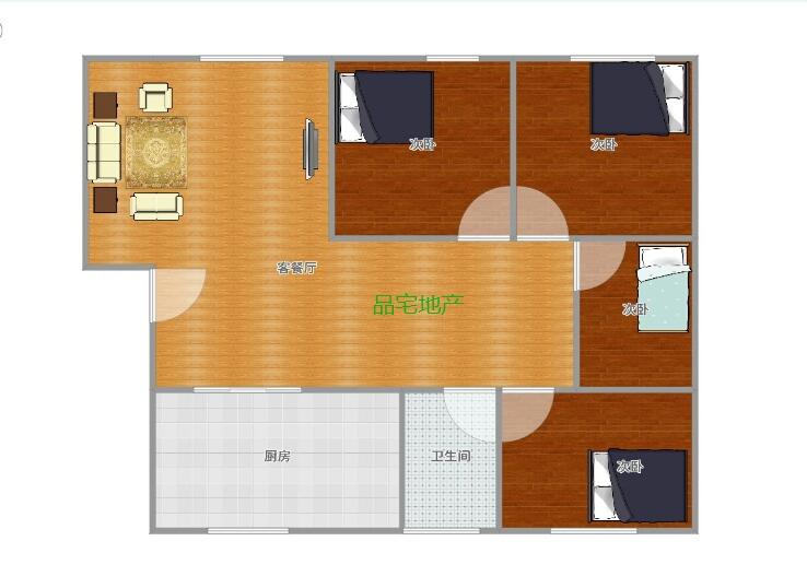 电力澳门拉斯维加斯官网4室 2厅 1卫30.6万元