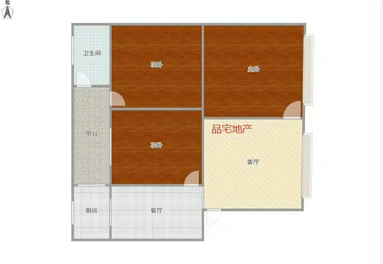 老城区3室 2厅 1卫32万元