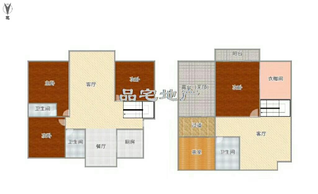 吉大观庭附近4室 3厅 3卫180万元