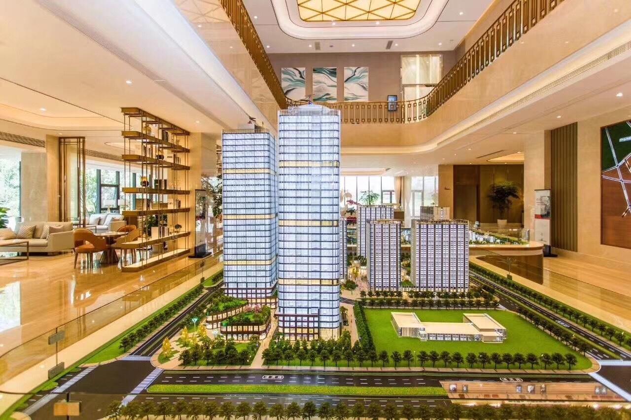 江北新区4.8米挑高双钥匙公寓民用水电首付40万