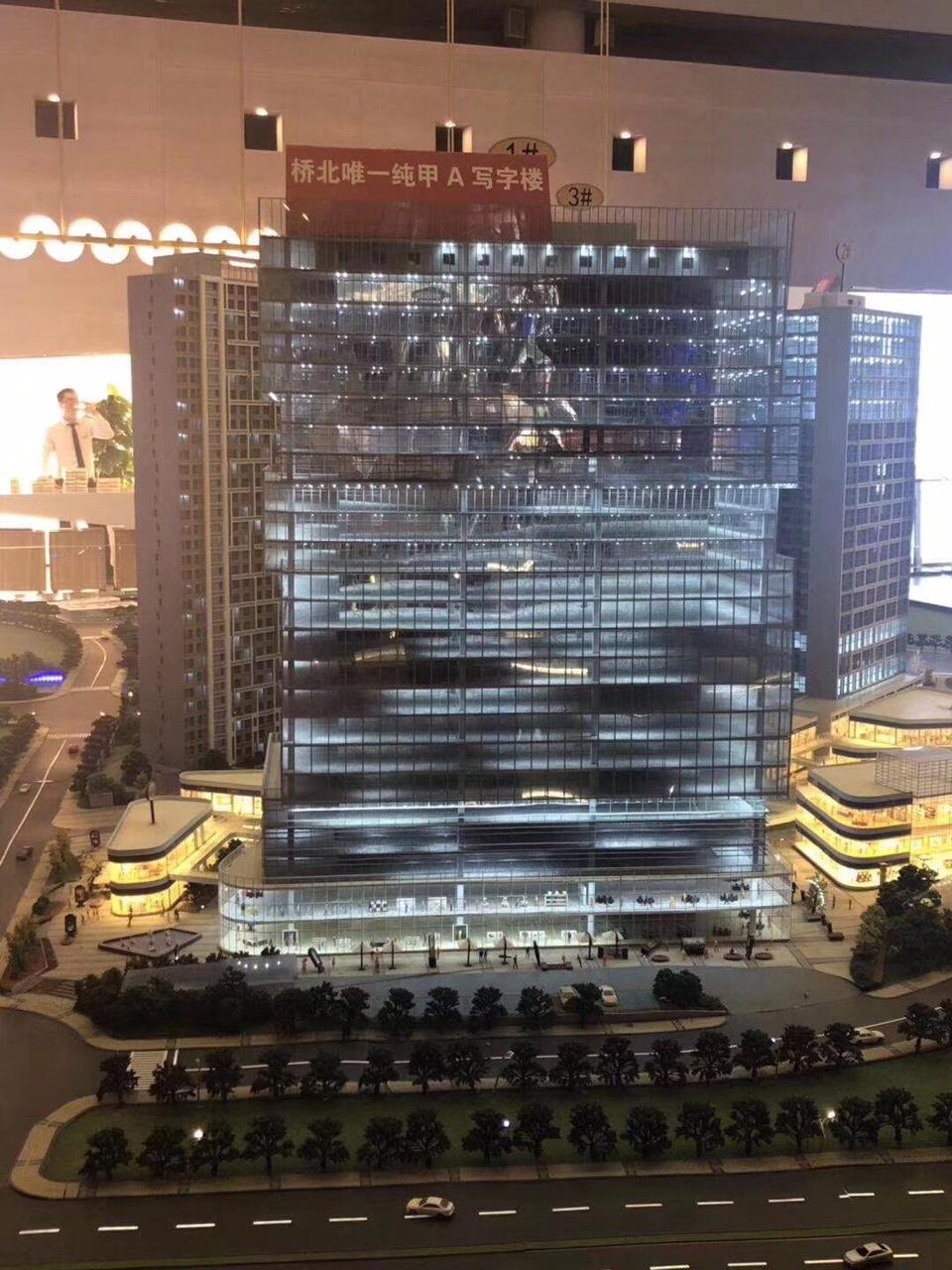 桥北核心弘阳广场印象汇旁的5A级写字楼弘阳时代中心
