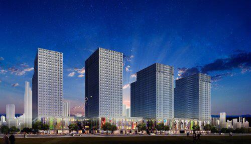 河西奥体中心旁双地铁紫辉时广场低总价刚需住宅