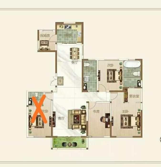 梦想城4室 2厅 2卫83万元