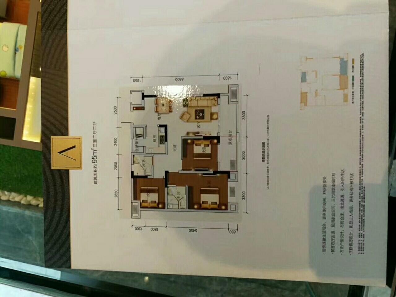 金輝優步花園精裝3室 2廳 2衛85萬元