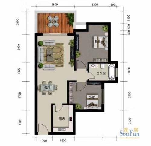 水榭丹堤2室首付只需23万,豪华装修