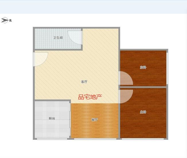 丘城金界2室 1厅 1卫33.5万元