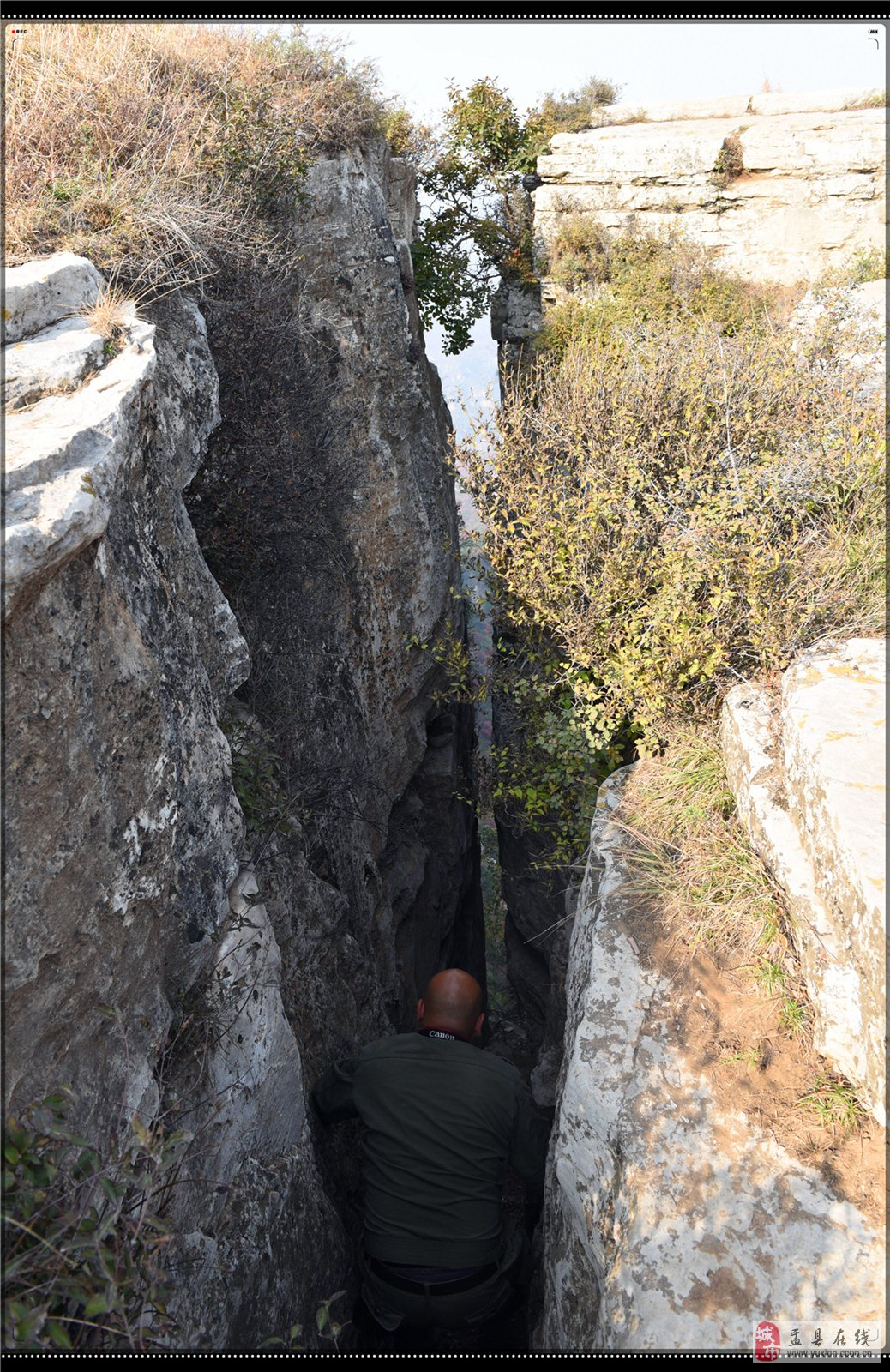 """大美盂县开发的""""燕子崖""""旅游景区大观"""