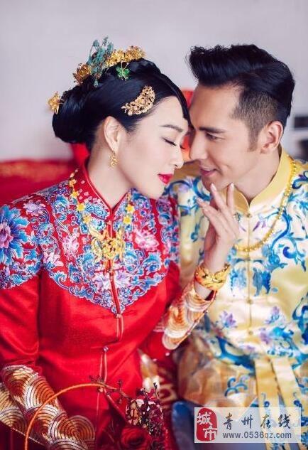 今天是钟丽缇张伦硕婚礼的日子,祝福人鱼夫妇