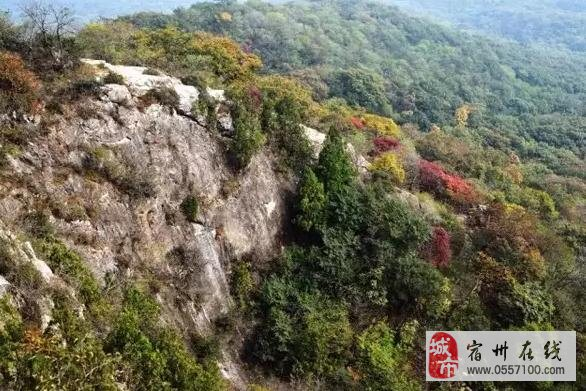 萧县皇藏峪冬季图片_