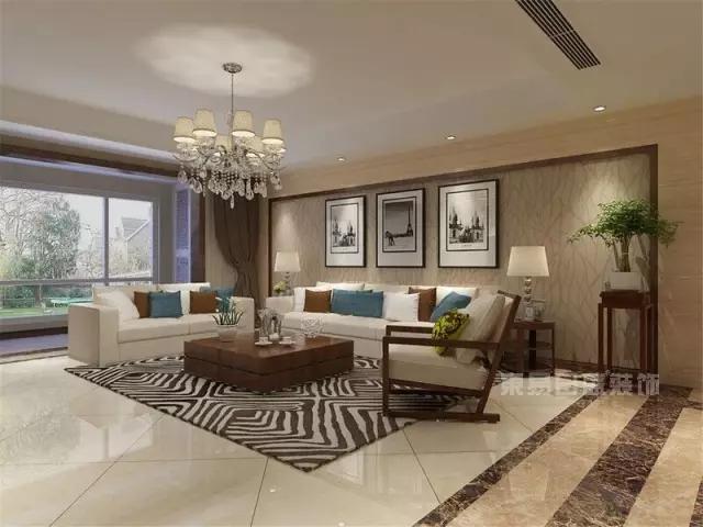 想装修现代简约风格客厅?客厅的颜色怎么搭配?