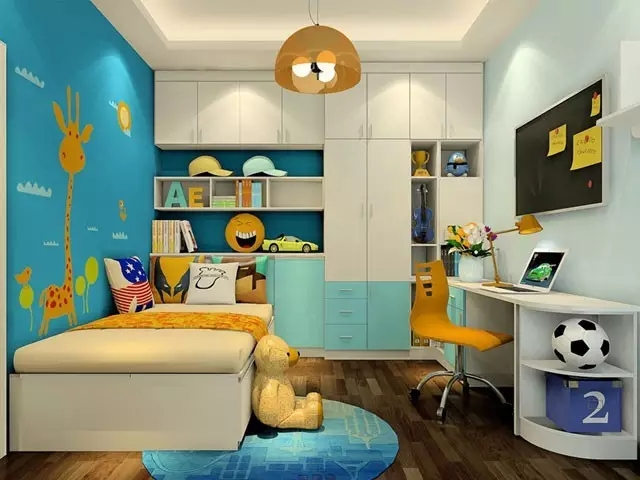 儿童房装修,安全是永远的流行趋势