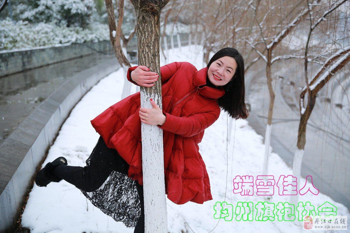 原创:七绝·瑞雪迎春 (新韵、插图) - 芳  草  美  人 - 芳 草 美 人