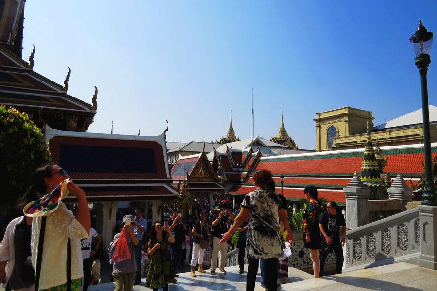 【原创】参观泰国大皇宫,是曼谷市中心内一处大规模的古建筑群(组图)
