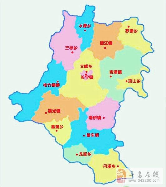 赣州到寻乌地图