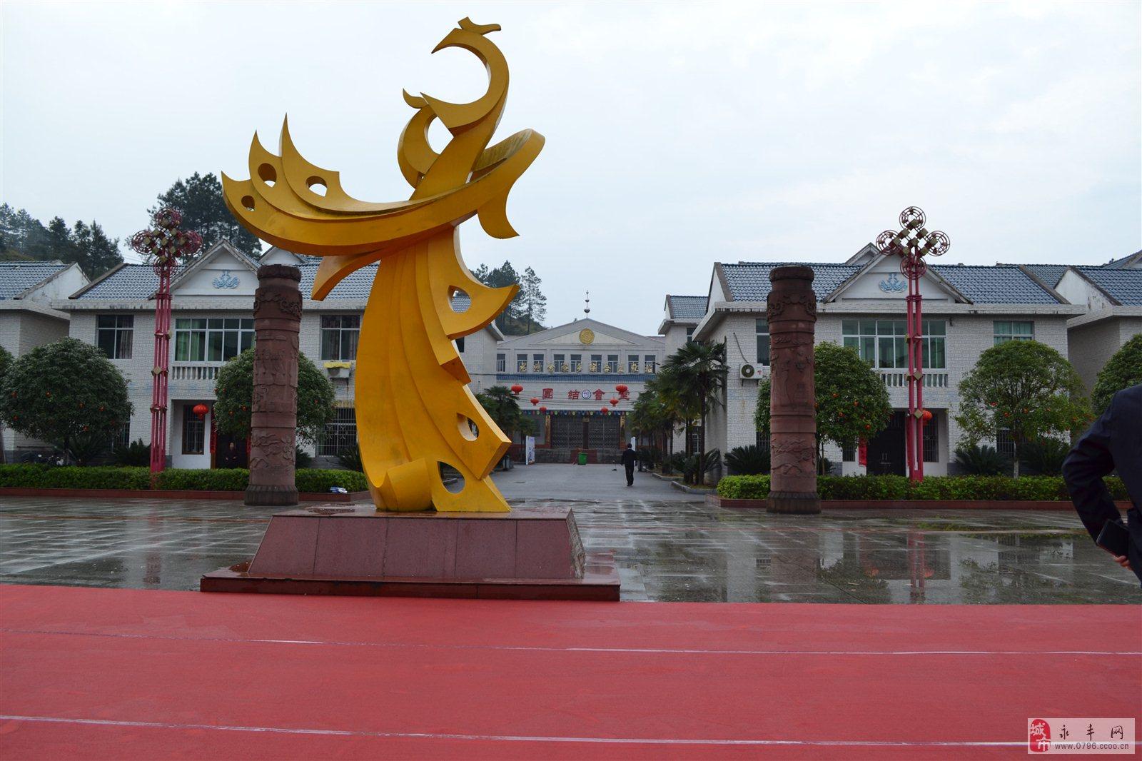 美食广场小品雕塑