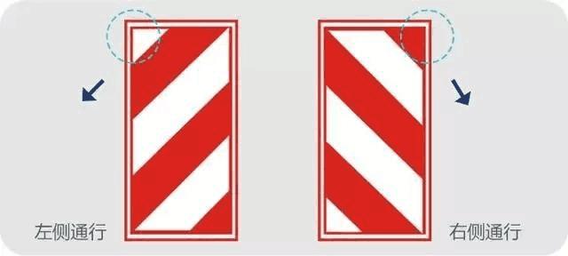 向左行驶标志素材