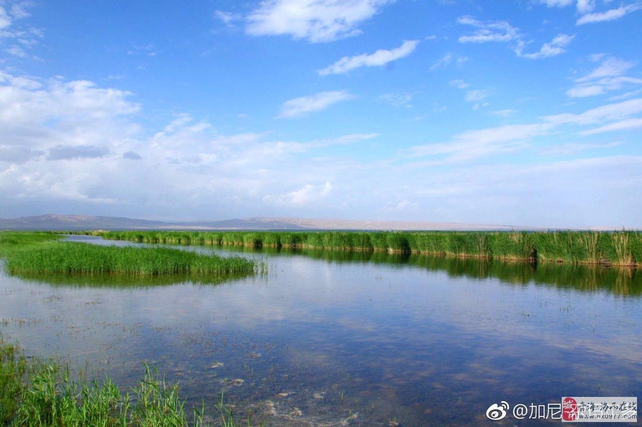 托素湖之景-转载
