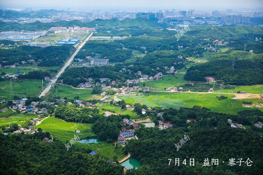 7月4日,益阳市南郊寨子仑. 刘宗耀 摄