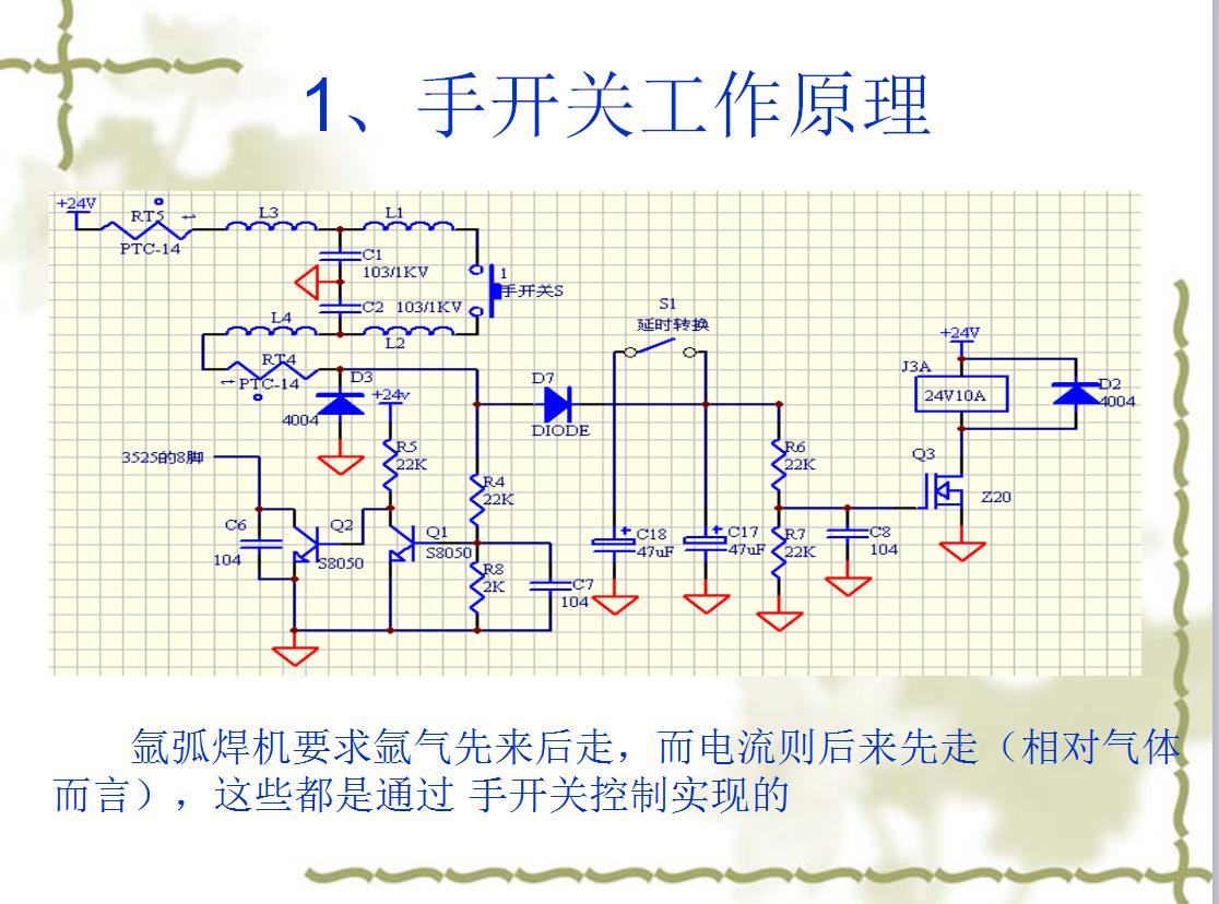 氩弧焊机工作原理