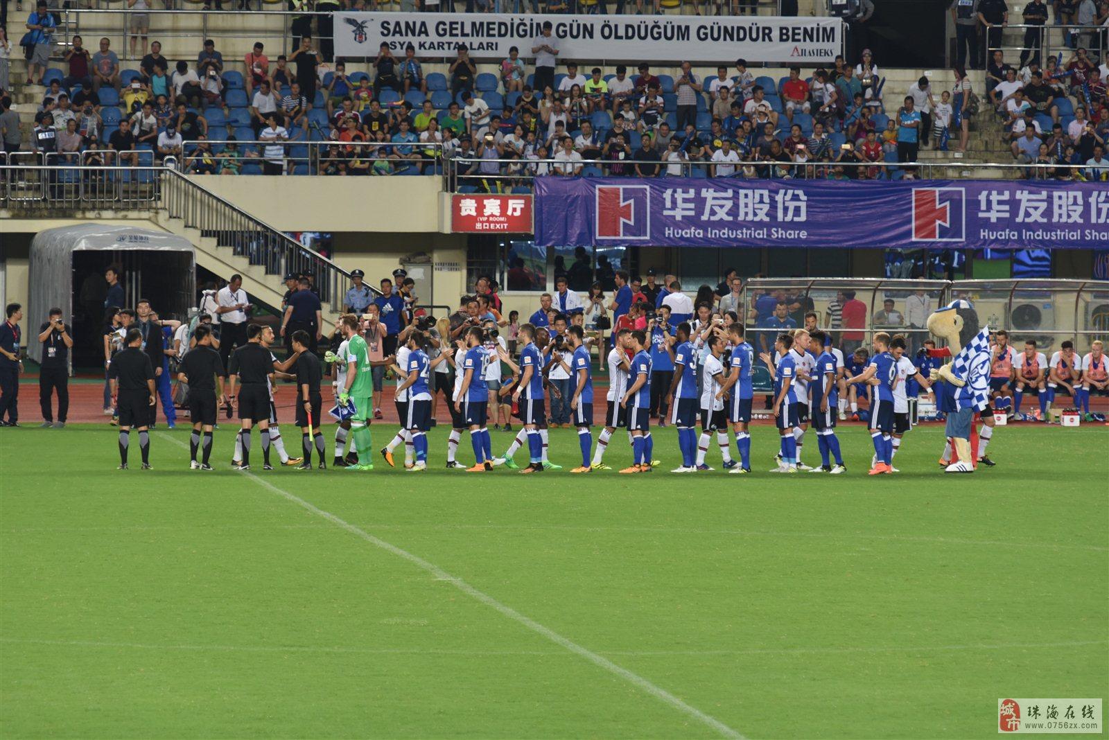 国际足球对抗赛珠海上演