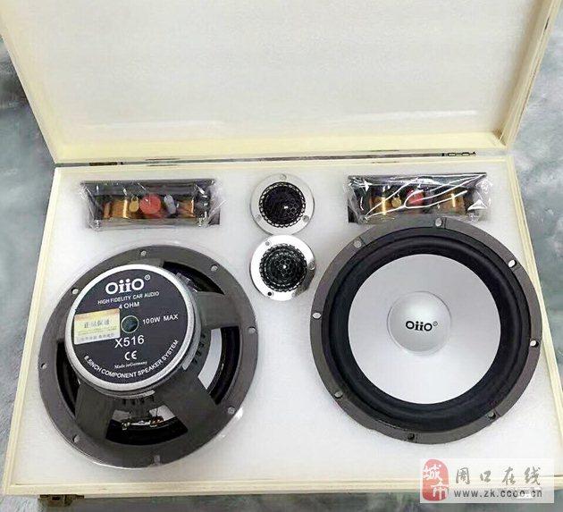 靓出你的专属音质-别克GL8音响升级德国oiio欧艾X5两分频