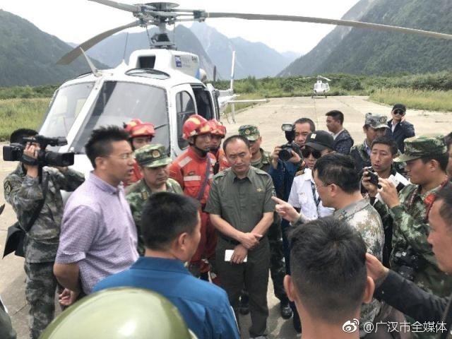 驰援九寨沟灾区,广汉西林凤腾通航公司直升机救出伤员群众30余人(图片)