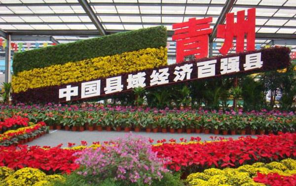 青州被认定为国家重点花文化基地