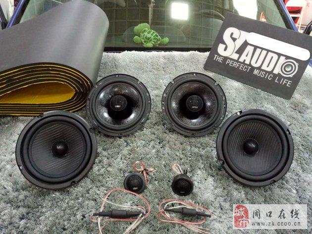 斯巴鲁音响无损升级德国oiio欧艾X1-165两分频