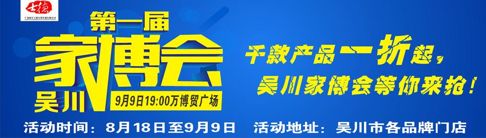 9月9吴川市第一届家博会