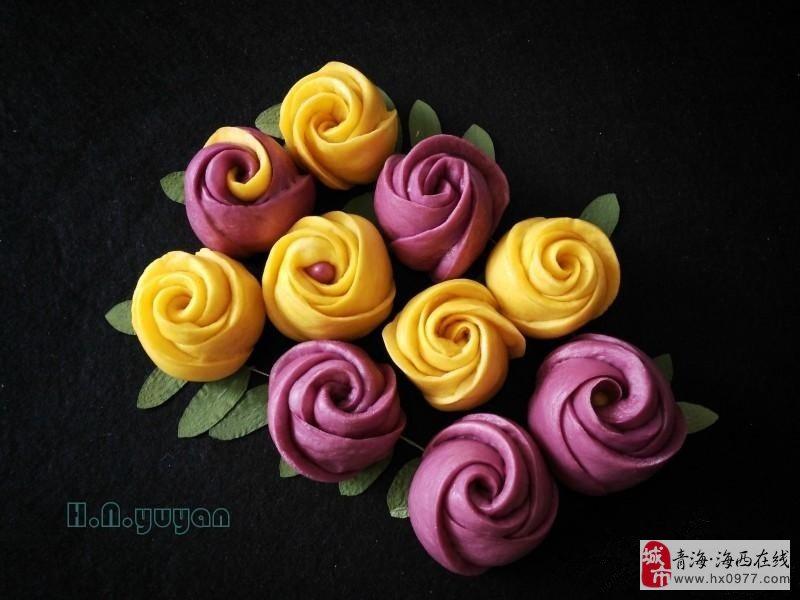 德令哈面食的华丽转身,蜕变成代表着浪漫与爱情的玫瑰