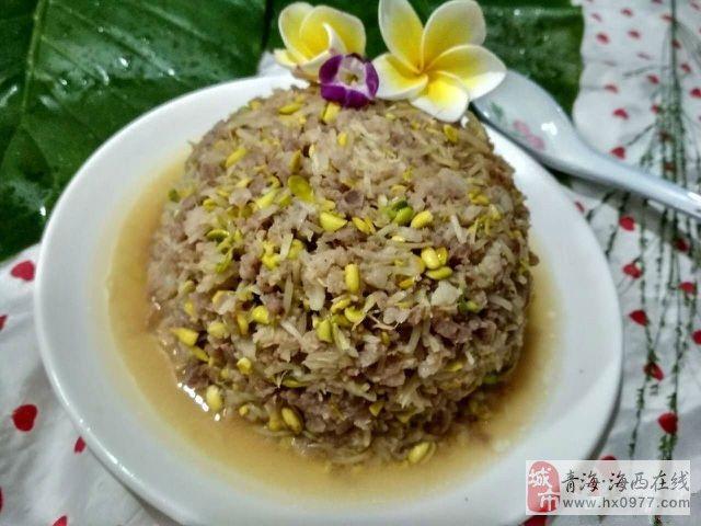 德令哈晚餐吃什么?豆芽炒肉末