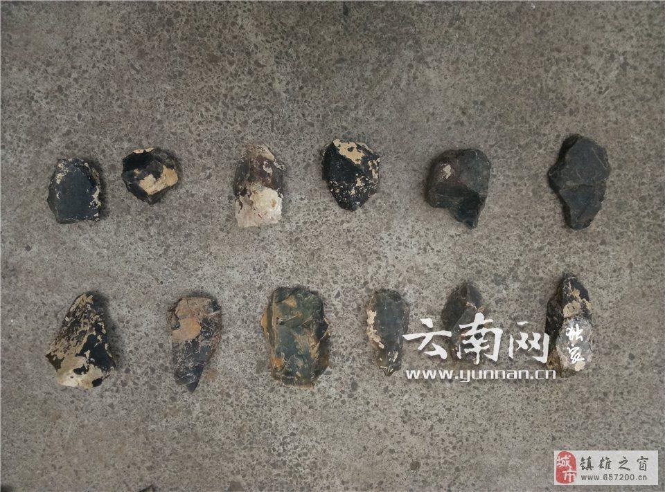 昭通镇雄发现石器遗址