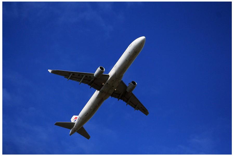 蓝天上的大飞机,演绎蓝天里的梦想(组图)