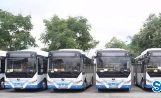 电动空调公交车开始试运行