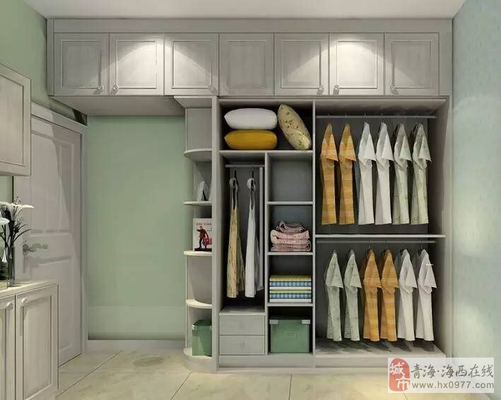 德令哈人知道么?衣柜这么设计,  比多买5�O都强!