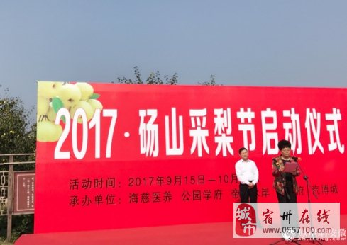 砀山九月酥梨香 2017・砀山采梨节正式启动