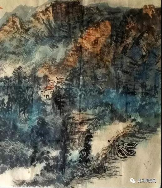 中国青绿山水画院作品展将在翰墨青州・2017中国书画年会展出!