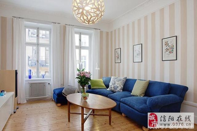 南阳三口之家装修样板间,朴素大方的壁纸,一个温馨健康家庭环境