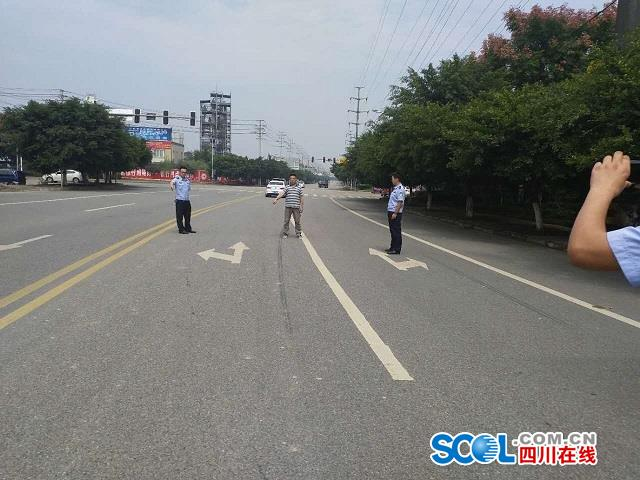【转帖】四川在线――广汉一男子驾车撞人肇事逃逸,警方连夜奋战抓捕归案