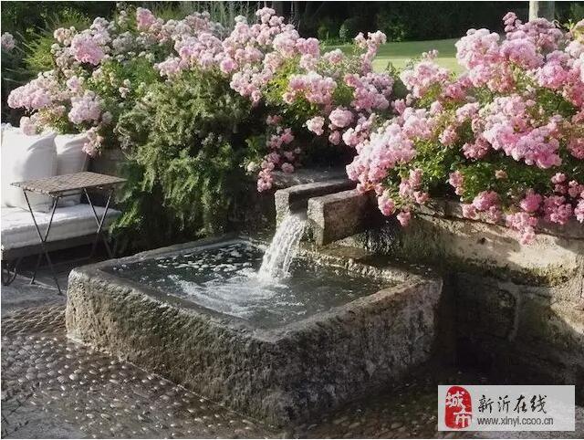 有了院子,一定造个小水景。