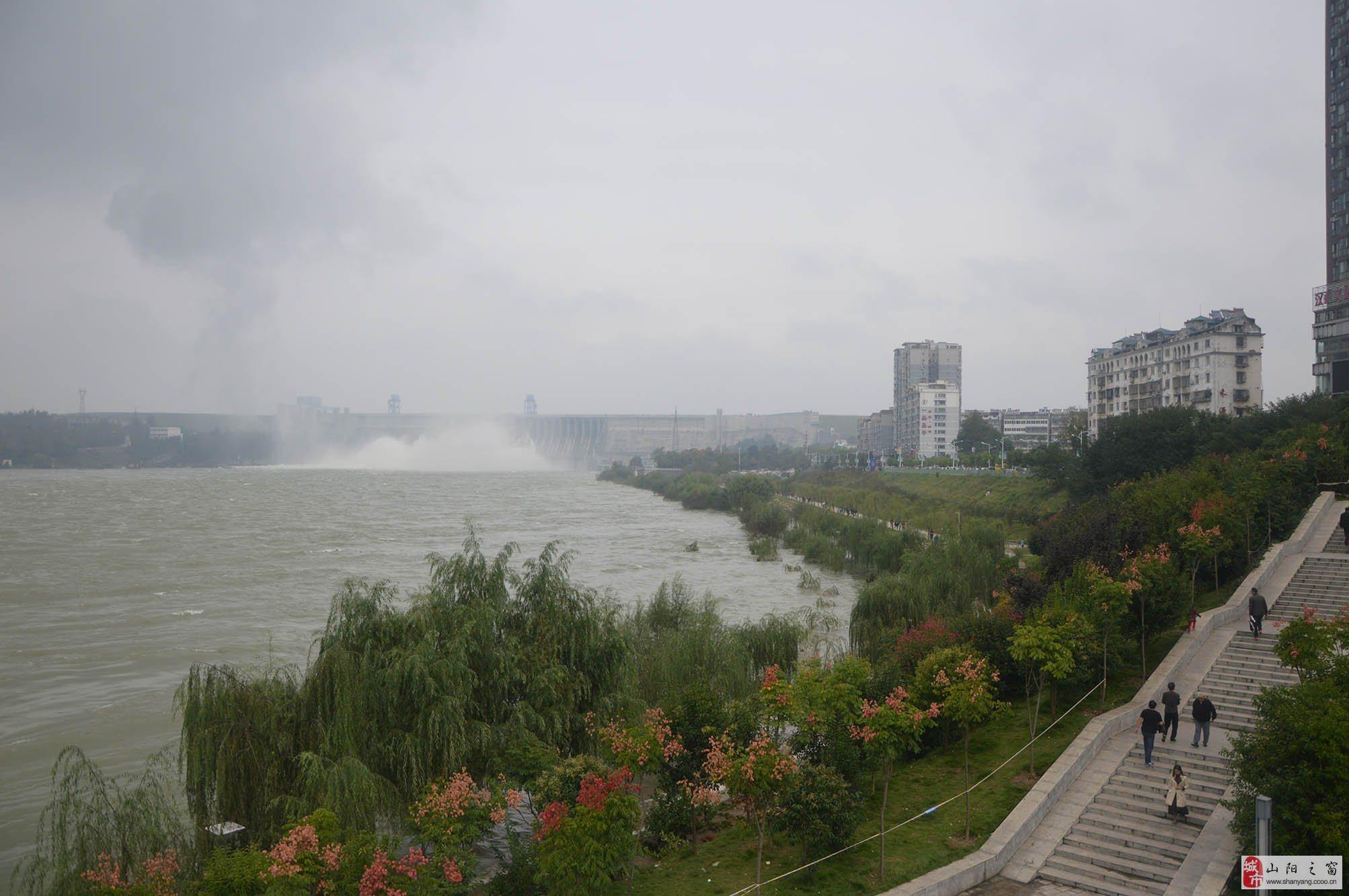 十一国庆游丹江口大坝