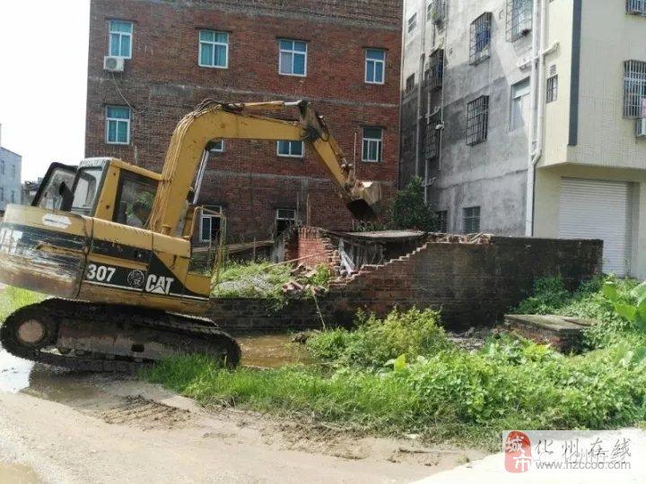大动作,化州这里拆除猪栏22间,危房、泥砖房13间,清除竹林52处..
