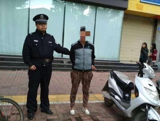 东大街派出所查获一名盗窃电动车的违法人员