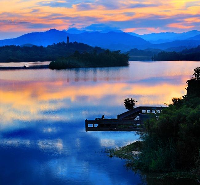 益阳鱼形山水利风景区